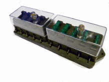 Fusebox 10 way with transparent lid ALT/LFB10-09